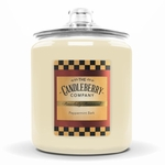 NEW! - Peppermint Bark 160 oz. Cookie Jar Candleberry Candle | NEW! - Cookie Jar Candles by Candleberry