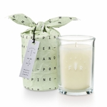 NEW! - Pomander Pine Bundled Glass Illume Candle | Holiday Collection by Illume Candles