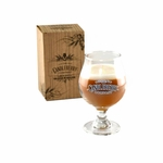 NEW! - Pumpkin Beer Glass Candleberry Candle | Grapes & Grains by Candleberry Candle