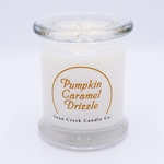 NEW! - Pumpkin Carmel Drizzle Clean & Contemporary 9 oz. Jar Swan Creek Candle | Swan Creek Clean & Contemporary Collection