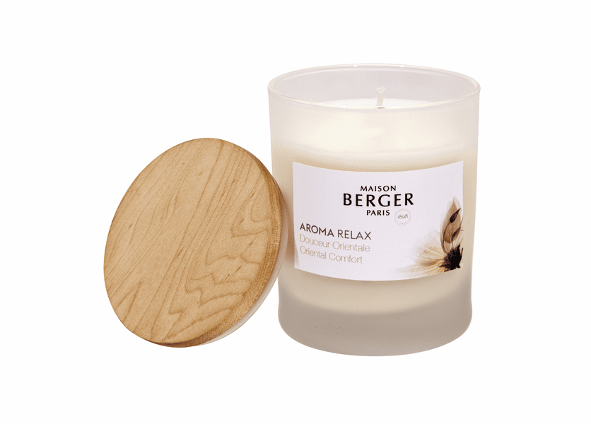 NEW! - Relax Candle 180g - Maison Berger by Lampe Berger