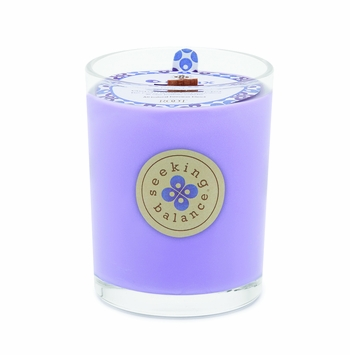 NEW! - Relax (Geranium Lavender) Seeking Balance 15 oz. Large Spa Candle by Root