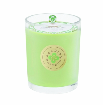 NEW! - Relieve (Eucalyptus Menthol) Seeking Balance 15 oz. Large Spa Candle by Root