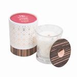 NEW! - Rhubarb & Herbs Aura WoodWick Candle | NEW! - WoodWick Aura Collection