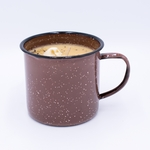 NEW! - Roasted Espresso Gourmet Enamelware Medium Mug Swan Creek Candle | Gourmet Enamelware Collection