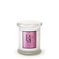 NEW! - Rose 8.6 oz. Frosted Jar Candle by Archipelago