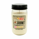 NEW! - Rum Raisin Glaze 24 oz. Swan Creek Kitchen Pantry Jar Candle | 24 oz. Swan Creek Kitchen Pantry Jar Candles