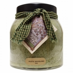 Rustic Woodland Fig 34 oz. Papa Jar Keepers of the Light Candle by A Cheerful Giver | Keeper's of the Light 34 oz. Papa Jar Candles by A Cheerful Giver