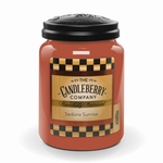 NEW! - Sedona Sunrise 26 oz. Large Jar Candle  by Candleberry | New Releases by Candleberry
