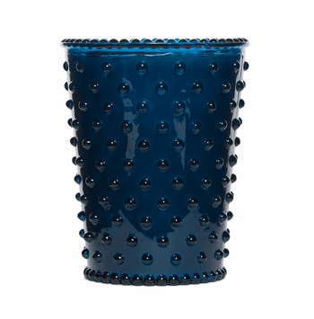 NEW! - Simpatico Ambergris Hobnail Glass Candles by K. Hall Studio