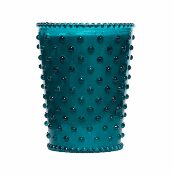 NEW! - Simpatico Spanish Lime Hobnail Glass Candles by K. Hall Studio