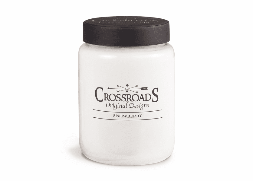 NEW! - Snowberry 26 oz. Crossroads Candle