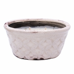 CLOSEOUT-Southern Sweet Tea English Garden Window Box Swan Creek Candle (Color: Eggshell) | Swan Creek Candles Closeouts