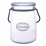 NEW! - Summer Storm 22 oz. Butter Jar Candle by Milkhouse Candle Creamery | 22 oz. Butter Jar Candles by Milkhouse Candle Creamery