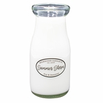 NEW! - Summer Storm 8 oz. Milkbottle Candle by Milkhouse Candle Creamery | 8 oz. Milkbottle Candles by Milkhouse Candle Creamery