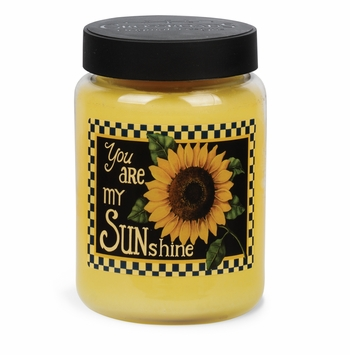 NEW! - Sunshine Artwork Lemon Cookie 26 oz. Crossroads Candle
