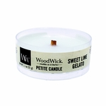 CLOSEOUT-Sweet Lime Gelato Petite WoodWick Candle | Discontinued & Seasonal WoodWick Items!