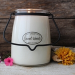 NEW! - Sweet Woods 22 oz. Butter Jar Candle by Milkhouse Candle Creamery | 22 oz. Butter Jar Candles by Milkhouse Candle Creamery