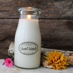 Sweet Woods 8 oz. Milkbottle Candle by Milkhouse Candle Creamery | 8 oz. Milkbottle Candles by Milkhouse Candle Creamery