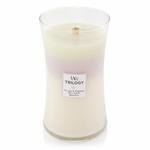 NEW! - Terrace Blossoms WoodWick Trilogy Candle 22 oz. | New WoodWick Spring & Summer 2019 Releases