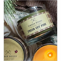 Timber Woods Candles by Northern Lights