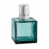 NEW! - Turquoise Cube Fragrance Lamp - Lampe Berger by Maison Berger