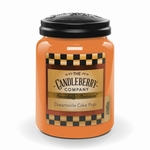 NEW! - Dreamsicle Cake Pop 26 oz. Large Jar Candleberry Candle | New Releases by Candleberry