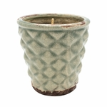 NEW! - Vanilla Pound Cake English Garden Hobnail Pot Swan Creek Candle | English Garden Collection