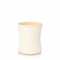 NEW! - Vanilla & Sea Salt Sea & Sand Ceramic Mini Hourglass WoodWick Candle