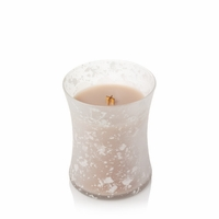 NEW! - Vanilla & Sea Salt Sea & Sand Decorated Medium Hourglass WoodWick Candle