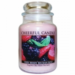 NEW! - Very Berry Beckah Boo 24 oz. Cheerful Candle by A Cheerful Giver | New Releases by A Cheerful Giver