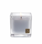 CLOSEOUT-Viola Driftwood 12 oz. Cube Candle by Aromatique | Aromatique Fragrance Closeouts