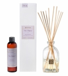 CLOSEOUT-Viola Driftwood 4 oz. Reed Diffuser Set by Aromatique | Aromatique Fragrance Closeouts