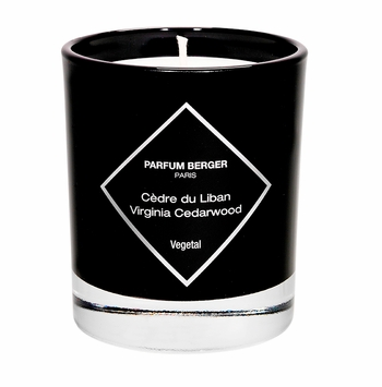 NEW! - Virginia Cedarwood Graphic Candle - Maison Berger by Lampe Berger