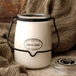 NEW! - Warm Wool 22 oz. Butter Jar Candle by Milkhouse Candle Creamery | 22 oz. Butter Jar Candles by Milkhouse Candle Creamery