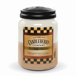 NEW! - Whipped Hot Cocoa 26 oz. Large Jar Candleberry Candle | Large Jar Candles by Candleberry