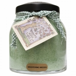 CLOSEOUT - Whispering Woods 34 oz. Papa Jar Keepers of the Light Candle by A Cheerful Giver | Closeouts by A Cheerful Giver