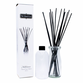 NEW! - White Driftwood & Coconut Reed Diffuser Kit by Milkhouse Candle Creamery