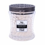 NEW! - White Tea & Jasmine Fragrance Beads WoodWick Candle | New WoodWick Spring & Summer 2019 Releases