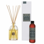 CLOSEOUT-White Teak & Moss 4 oz. Reed Diffuser Set by Aromatique | Aromatique Fragrance Closeouts