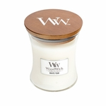 White Teak WoodWick Candle 10 oz. | WoodWick Candles 10 oz. Medium Jars