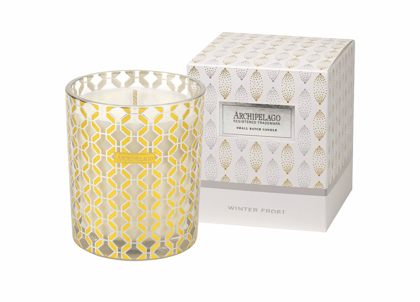 NEW! - Winter Frost Tuck Box Holiday Gift Candle by Archipelago