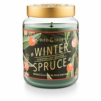 CLOSEOUT - Winter Spruce 22.2 oz. XL Jar Candle by Tried & True