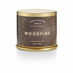 NEW! - Woodfire Demi Tin Illume Candle | Holiday Collection by Illume Candles