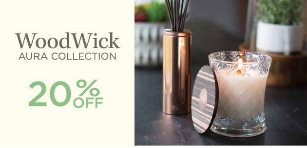 NEW! - WoodWick Aura Collection