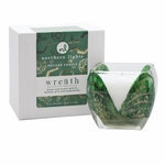 Wreath 8 oz. Holiday Cascade Candle by Northern Lights | Cascade Candles by Northern Lights