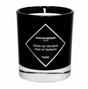 NEW! - Zest of Verbena Graphic Candle - Maison Berger by Lampe Berger