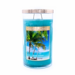 Ocean Breeze 18 oz. Bronze Collection Colonial Candle | Bronze Collection Colonial Candle