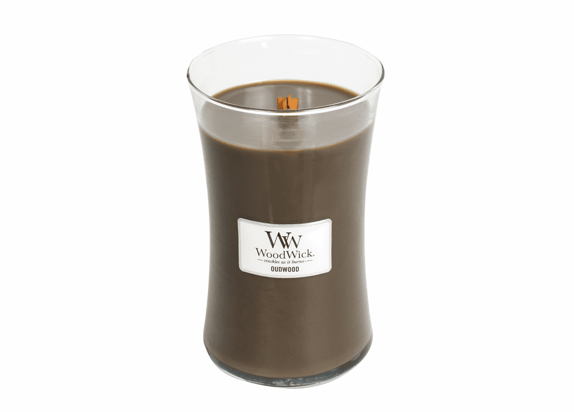 Oudwood WoodWick Candle 22 oz.