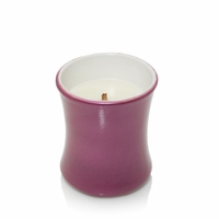 CLOSEOUT - Pomegranate Ceramic Mini Hourglass WoodWick Candle